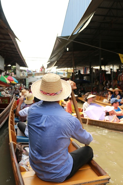 Thailande floating market