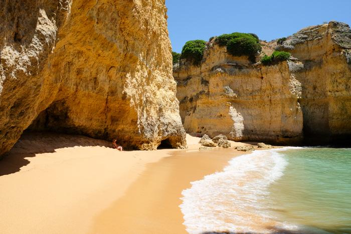plage Cala algarve
