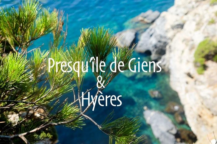 prequ'île de Giens et Hyères