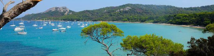 Week-end sur l'île de Porquerolles