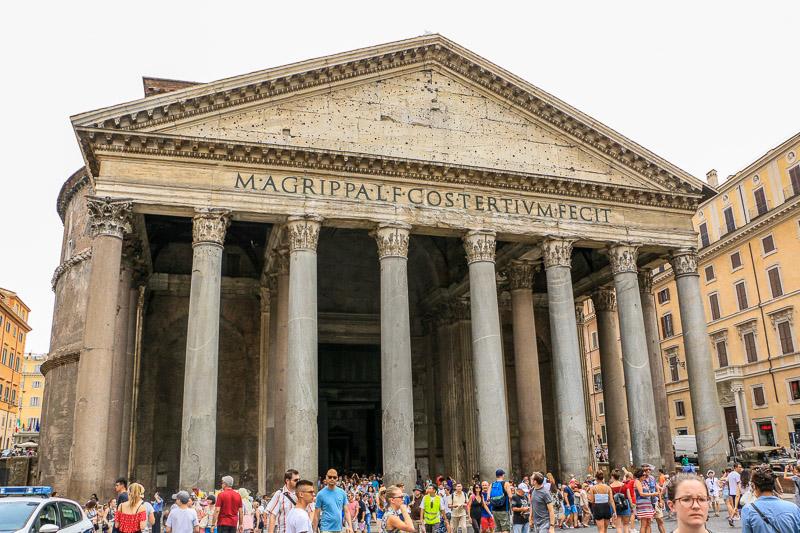 Rome le Pathéon