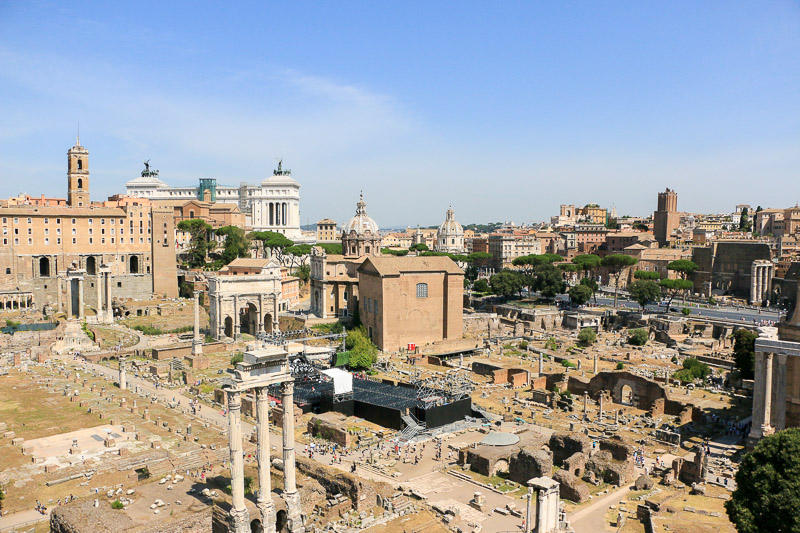 Rome Forum antique