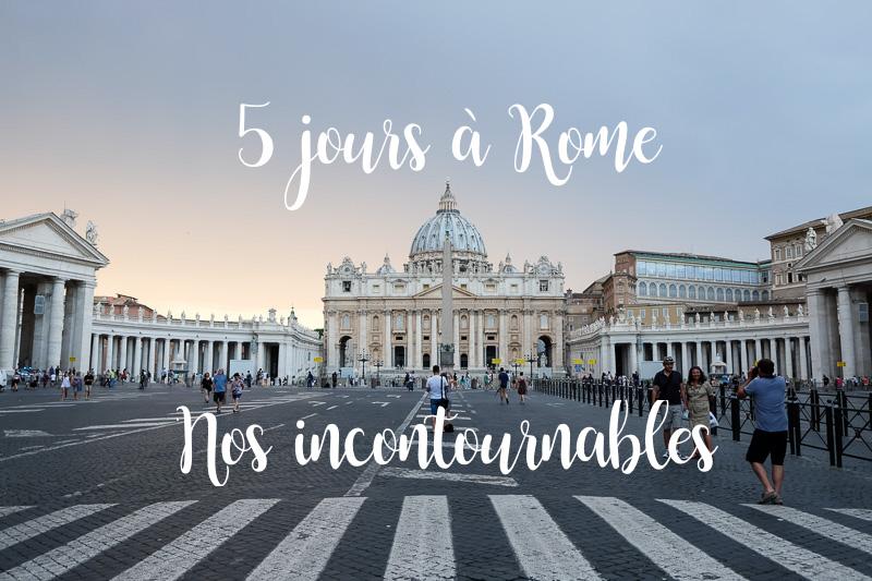 rome 5 jours