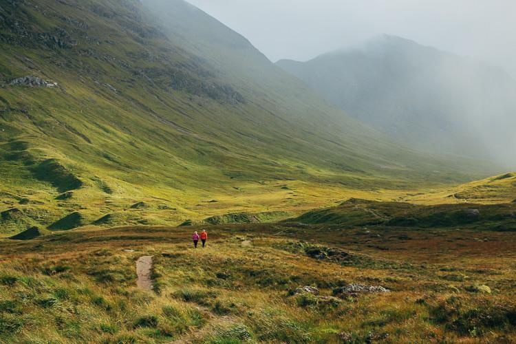 vallée de Glen coe