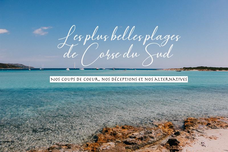 plus belles plages Corse du Sud