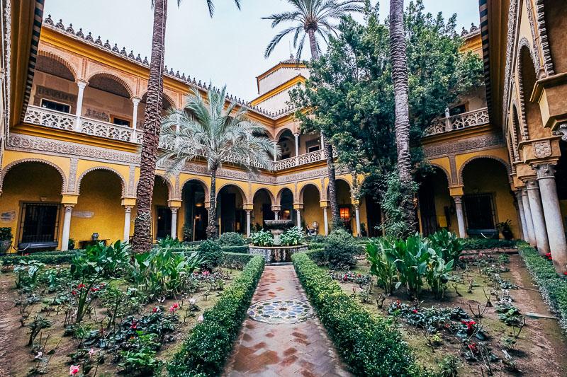 Séville Palacio de la duenas